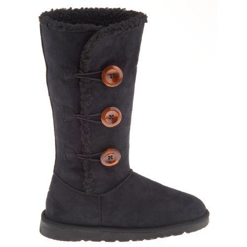 Polar Edge Women's Microsuede 3-Button Boots