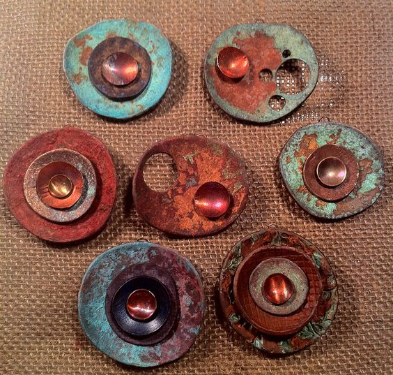 New Metal Pendant Experiment | Flickr - Photo Sharing!