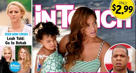 Beyonce & Jay-Z Still Headed To Split [IN TOUCH COVER]
