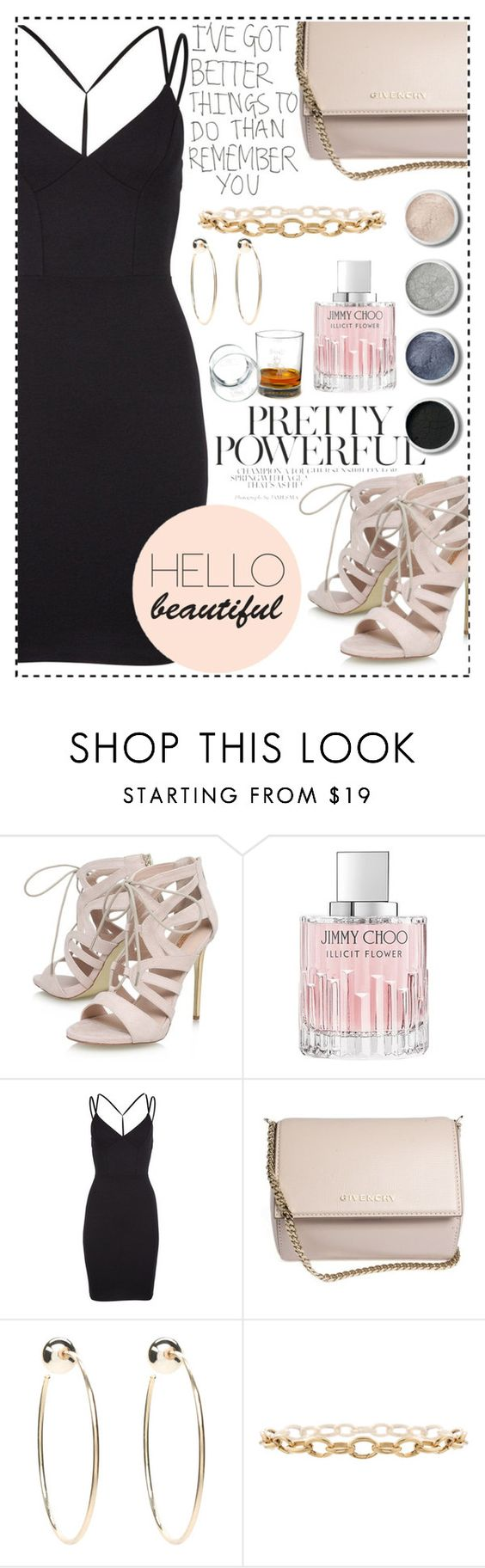 """""""Party hard"""" by jenamiller1214 ❤ liked on Polyvore featuring Carvela, Jimmy Choo, 2NDDAY, Givenchy, Terre Mère and Bebe"""