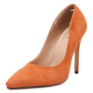 Classic Design Solid Pointed-toe Suede Pumps