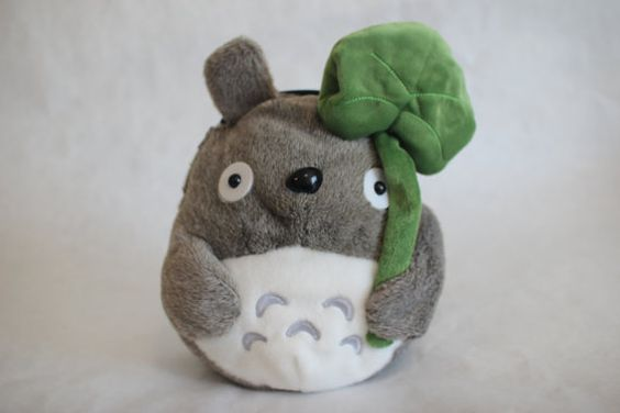 Lucky Totoro Chalk Bag by caco3bags on Etsy