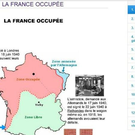 La Résistance en France sous l'Occupation – B1/B2
