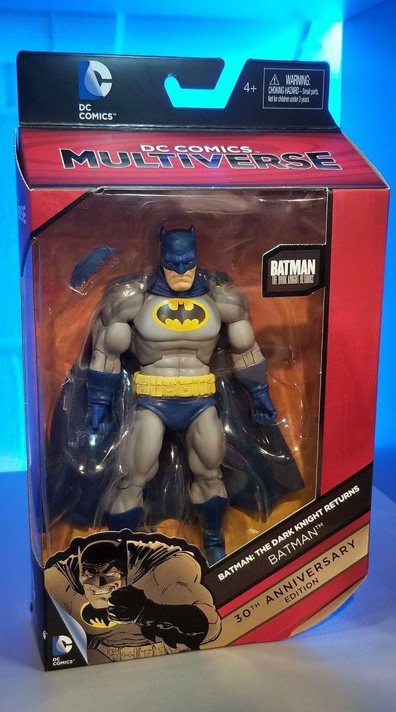 BATMAN SUPERMAN action figure da collezione 30 anni THE DARK KNIGHT RETURNS