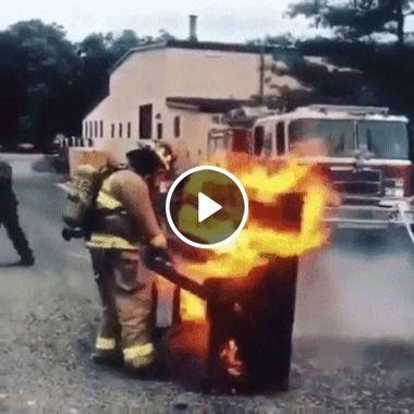 Uma mistura de Fogo e Música, bombeiro instrumentista