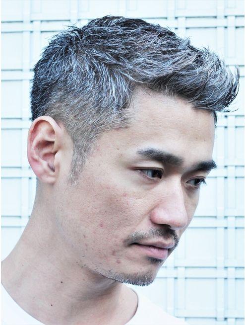 30 40代からの白髪刈り上げベリーショート L024031886 ガズル
