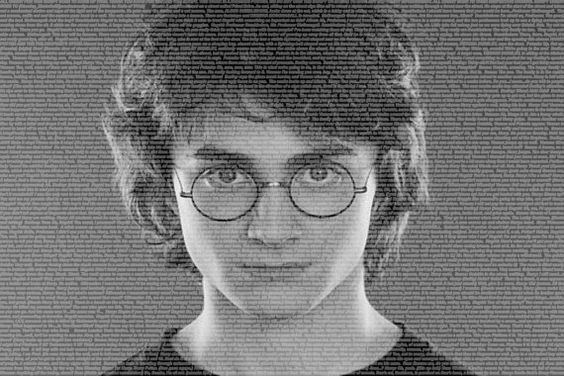 Harry Potter Made out of the Script to the First Harry Potter movie