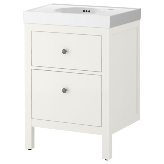 Small Bathroom Vanity Drawers : Po?ng footstool black brown isunda gray cas drawers