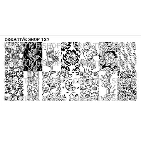 COMING SOON Creative Shop- Stamping Plate- 127