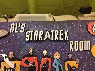 STAR TREK ROOM SIGN