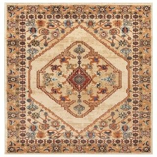 Luxe Weavers Howell Collection Oriental Blue 5x7 Area Rug In 2020