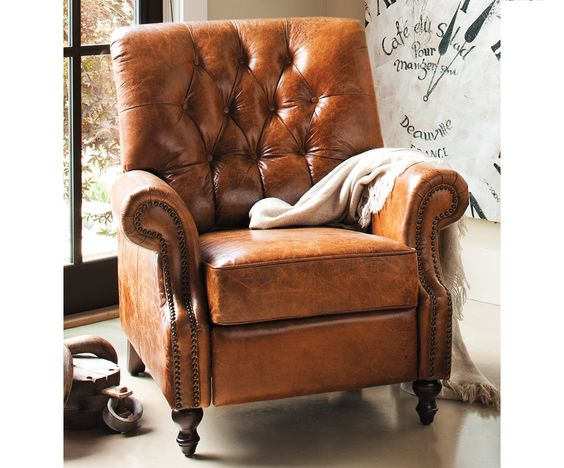 At Napastyle. Sarentino - Leather Recliner-A perfect escape after ...