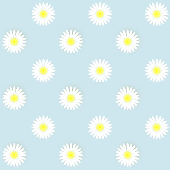 Daisy pattern wallpaper - photo#3