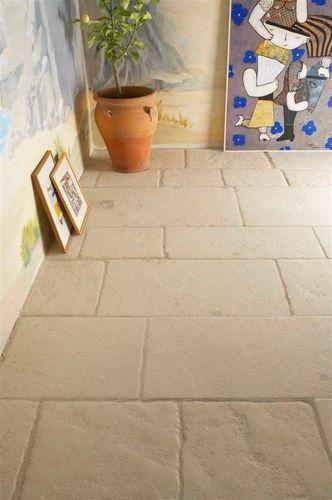 Carrelage de sol / en pierre naturelle / mat / aspect rustique DALLAGE DE BORREZE OCCITANIE PIERRES