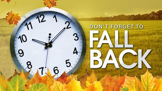 When: November 2, 2014 @ 1:00 am – 2:00 am   Remember to change your clocks and batteries!