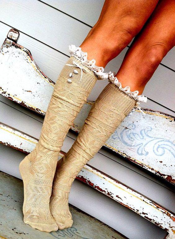 lace socks <3
