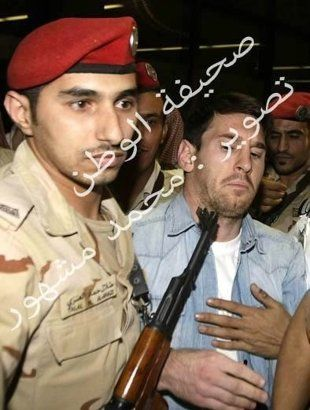 ARGENTINA ARRIVES IN SAUDI ARABIA, LEO MESSI GETS A GUN IN HIS FACE!!! THIS STUPID SOLDIER! WTF!!!
