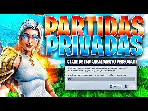 Fortnite Directo Partidas Privadas En 2019 Videos Nuevos