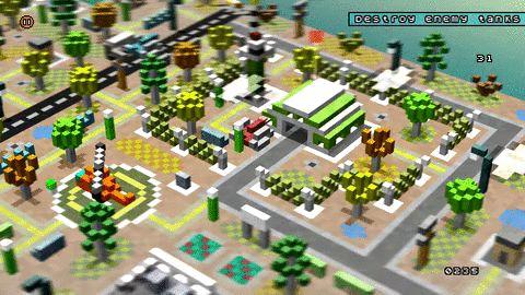 Voxel Enemy Base Destroyed