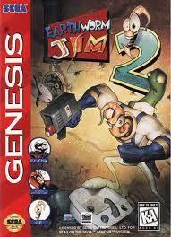 Earthworm Jim 2 - Genesis Game