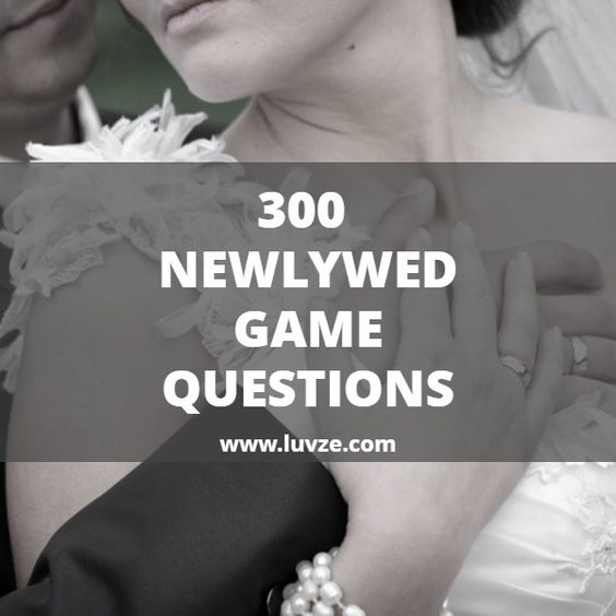 Check out our huge list of fun newlywed game questions for your wedding. This is an entertaining game for both the newlyweds and guests.
