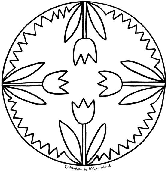 Mandalas Fur Kinder Mandalas Zum Ausdrucken Und Ausmalen Mandala