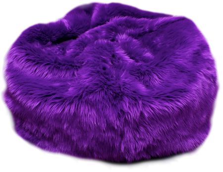 FUZZY PURPLE BEANBAG CHAIR!!! <3      That was the original description, and it was awesome enough that I thought I should keep it. XD