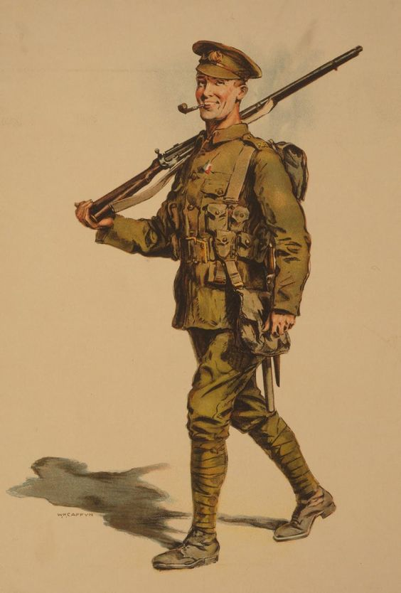 wwi soldier illustration ww i pinterest soldiers