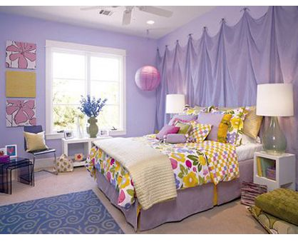 Cute bedroom ideas, The wall and Curtains on Pinterest