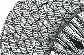 Bucky zentangle - Google Search