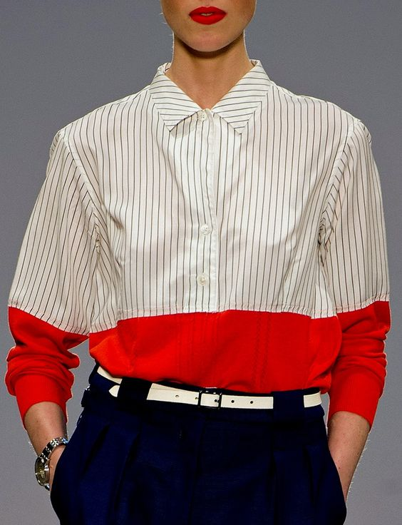 Vertical stripes are good for you unlike horizontal stripes because horizontal…