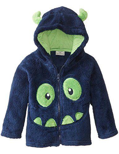 Tkria Nueva del bebé chaqueta cremallera de animados de la del bordado de terciopelo de coral la capa del sombrero #camiseta #friki #moda #regalo
