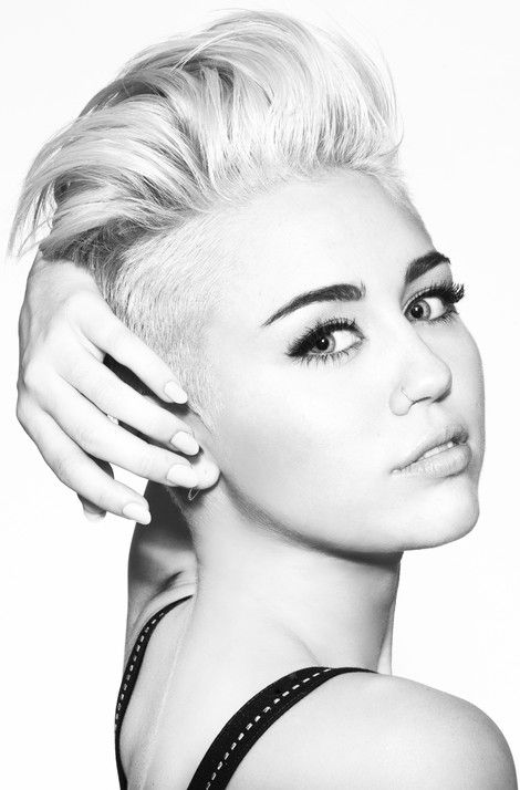 Amazing How Can You Not Love Miley Cyrus39 New Hairstyle Starpulse Short Hairstyles For Black Women Fulllsitofus