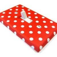 redpolka dot light switch cover - Bing images