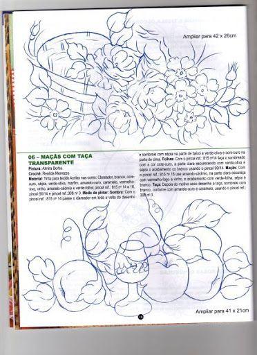 Criando Arte - Pintura em tecido e Croche - Sandrinha - Álbuns da web do Picasa