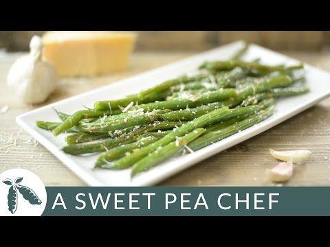 Garlic Parmesan Green Beans • A Sweet Pea Chef