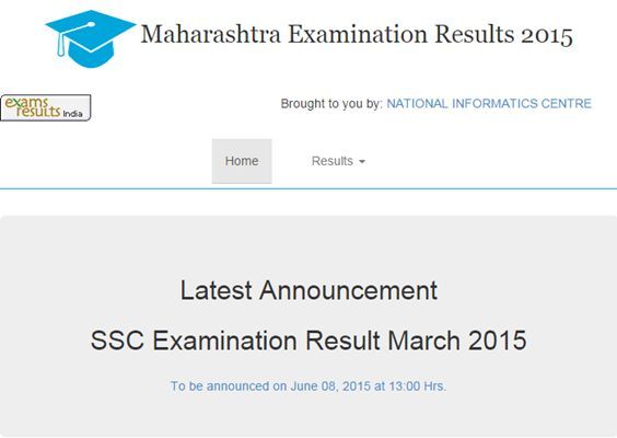 Check Ssc 10th Result Www Mahresult Nic In 2015 Online X Results
