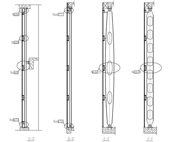 Structural Framing Fittings : Steel structure design with spider fitting fachadas