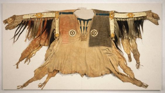 Sioux. Shirt for Chief's War Dress, early 19th century.