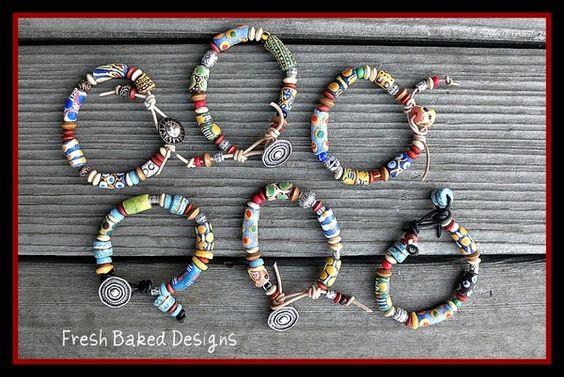 Ghana Bead Bracelets