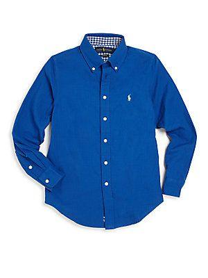 Ralph Lauren Boy's Button-Down Shirt -