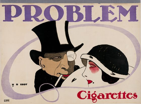Hans Rudi Erdt, Problem Cigarettes, 1912
