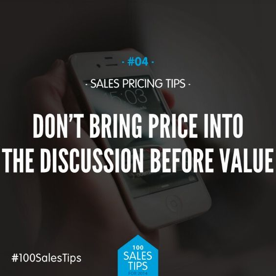 Sales tip: Easier said than done, especially if we rush a conversation or push an agenda rather than listen to prospect.