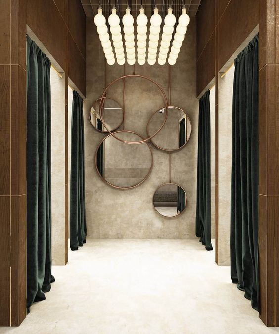 """IQOSA Boutique, Moscow, Russia, """"Creating a visual impact. The perfect combination of style and taste"""", pinned by Ton van der Veer"""