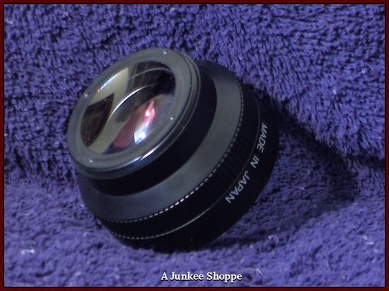 TELEPHOTO Camcorder Camera Lens Made In Japan Generic Unbranded   HP 5300  http://ajunkeeshoppe.blogspot.com/
