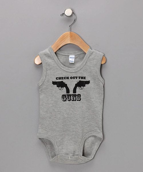 Quirky, catchy phrases are always funny, but they're spit-out-the-Cheerios funny when they come from a baby. This cozy cotton, cheeky bodysuit is the perfect way to give a little one an edge on the cute competition. Funny and cool all in one adorable, convenient little package—what's not to love? 100% cottonMachine wash; tumble dry