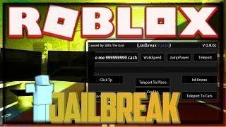New Roblox Hack Script Jailbreak Money Inf Nitro More