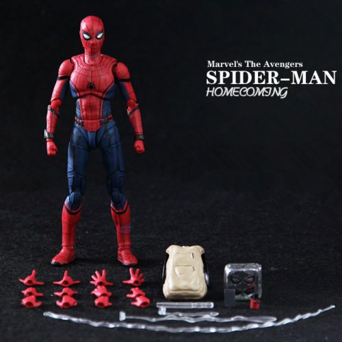 Hot SHF S.H.Figuarts Spider-Man Spiderman Hero Action Figures Toy Gift New