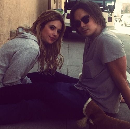 Ashley Benson Dating Pretty Little Liars Costar Tyler Blackburn - Us ...
