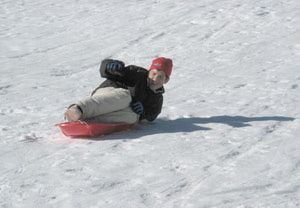 Tahoe Meadows Snow Play Area: Sledding Hill at Tahoe Meadows Snow Play Area